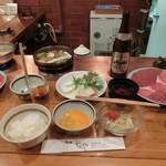 レストランちんや亭 - Oct 2016'「すき焼 椿」