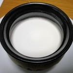 銀座文明堂 - 日之影栗のプリン(中味)