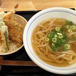 ウエスト - 料理写真:エビ天丼セット