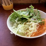 レストラン みゆき野 - サラダ(当然おかわり)
