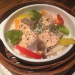個室ダイニング 和イン食堂 noov - きのこたっぷり秋鮭のクリーム煮