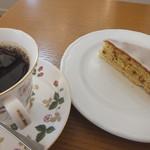 米安珈琲焙煎所 - ケーキセット