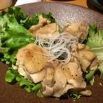 三代目若乃花プロデュース 郡山個室居酒屋 若の台所~こだわり野菜~ - 揚げ鶏の特製ねぎ塩ダレ