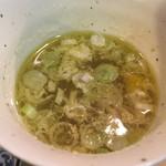 焼き鳥 若竹 - 鳥スープ