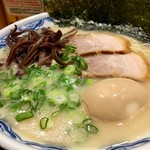 由丸 - 由丸ラーメン+味玉(2016.10)
