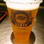 成葉軒 - ビール