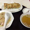 中華料理広東亭 - 料理写真:半チャーハン・餃子のセット  650円