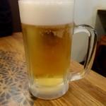 香家 - 生ビール