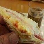 英国屋ノース - タマゴサラダとポテトサラダとハムのトリオ!!