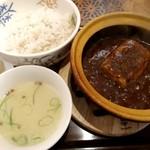 香家 - 麻婆豆腐ランチ