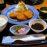 Kagaya - ひれかつ膳¥1520