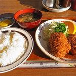 レストラン高砂 - カニクリームコロッケランチ