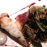 58160441 - サラダ&茸とモッツァレラチーズのタルト