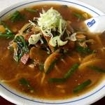 味よし味二番  - 料理写真:レバニララーメン 850円