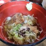丼ぶり屋 幸丼 - 幸丼+スープ