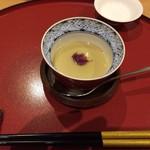 58164316 - 鴨出汁の茶わん蒸し