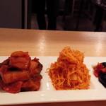 Brattoria - 野菜盛3種