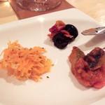 Brattoria - 野菜盛3種 取り分け