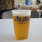 湘南茶屋 - アサヒスーパードライ生ビール