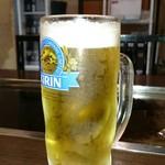 浅草 MJ - おかわり 生ビール。