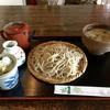 Nonohana - 料理写真:十割そば+きのこ汁