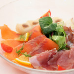 鮮魚4種のカルパッチョ