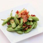 ペペロンチーノ風枝豆