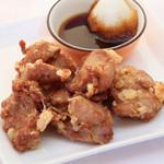 ルージュトマト - 若鶏のから揚げおろしポンズ480円(税別)