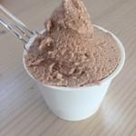 ジャージー ファーム - 料理写真:2016年10月下旬 チョコレートジェラート ¥370