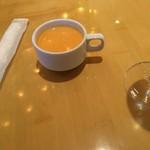 58168114 - 金時人参のスープ