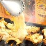七条ツキトカゲ - 国産朝引き鳥豚焼き280円から