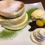 カフェ&ダイニング フルール - 白ごまクリーム・パンケーキ ー信楽店限定ー