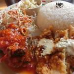 HANDY - スペアリブのトマトソース煮&チキン南蛮