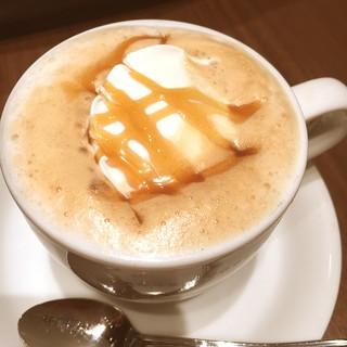 やなか珈琲店 エキュート赤羽店 - キャラメルミルクコーヒー