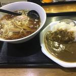 三吉 - ミニカレーセット(650円)