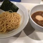 麺屋錦 - 魚プラスつけ麵(830円)