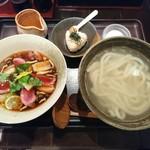 58172837 - 10月の限定❗                       『合鴨と焼き白葱のつけ麺』