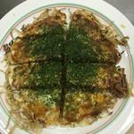お好み焼き 大樹 - 豚玉そば700円