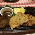 カタマリ肉ステーキ&サラダバー にくスタ -