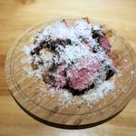 イタリアン食堂 - アンガス牛の鉄板焼き