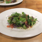 イタリアン食堂 - 蛸とキューリのぶつ切りサラダ