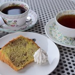ル リアン - ランチのデザート(シフォンケーキ)