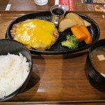 Hamburg&curry 919 Quick - チーズバーグ(¥740−)