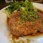 ビストロ 喜楽亭 - ポークソティジャポネーズ・ライス付き(¥1,200−)
