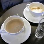 HATSUNEYA GARDEN CAFE - ココア、ジンジャーチャイ 各600円