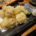 魚真 - 白子天ぷら(¥780−)