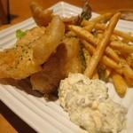 魚真 - フィッシュ&チップス(¥880−)