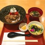 ばさら 梅々庵 - 和牛トマしゃぶ(小鉢・スープ付き)