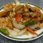 上海麺餃王 - 八宝菜。