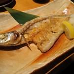 魚真 - かます開き焼(¥1,280−)